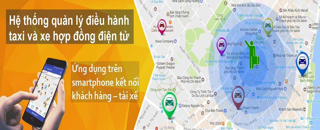 Giải Pháp Quản Lý Và Điều Hành Taxi & Xe Hợp Đồng Thông Minh
