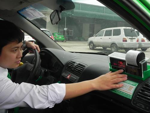Đồng hồ tính cước tích hợp máy in sẽ được sử dụng trên Taxi Mai Linh
